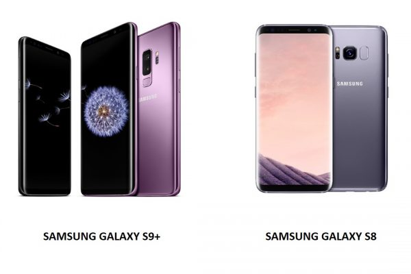 galaxy s8 and s9