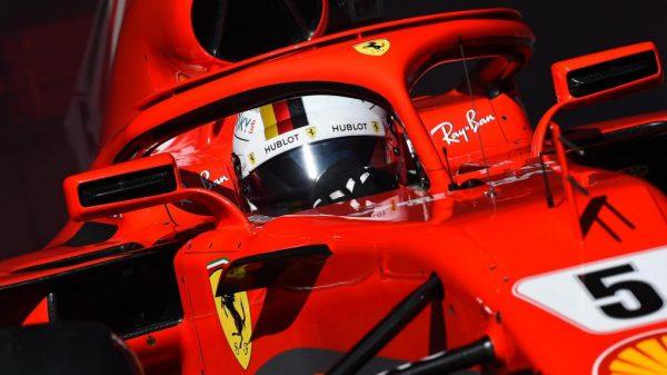 Ferrari Halo 2018