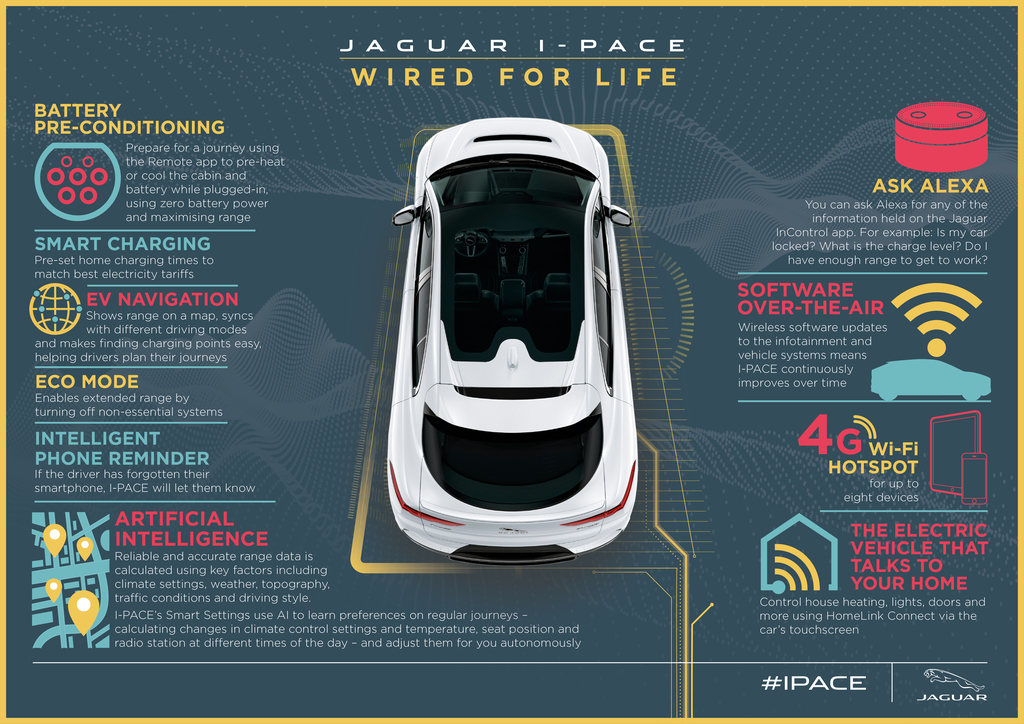 Smart tech jaguar