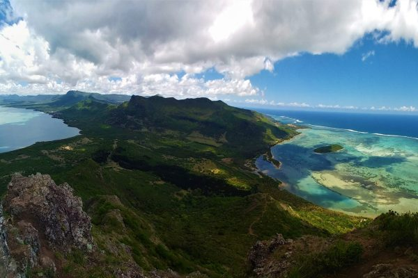 Le Morne Brabant View