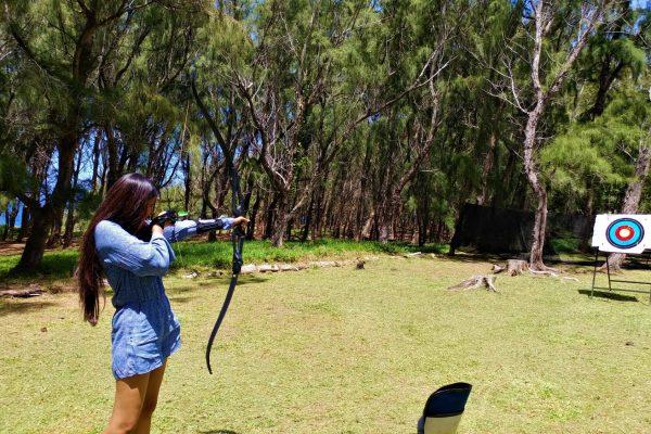 Andrea lodge activities archery