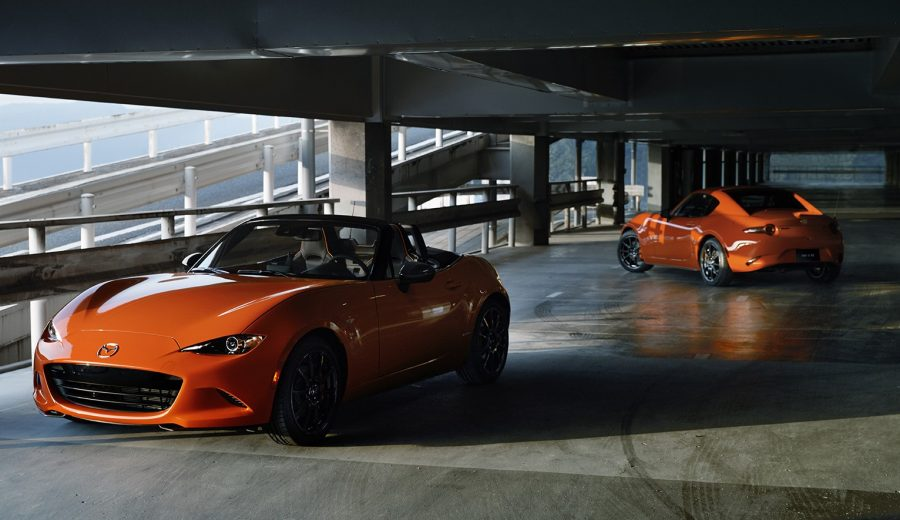 Mazda MX 5 30th anniversary