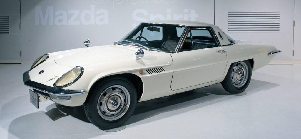 First rotary engine mazda cosmo sport