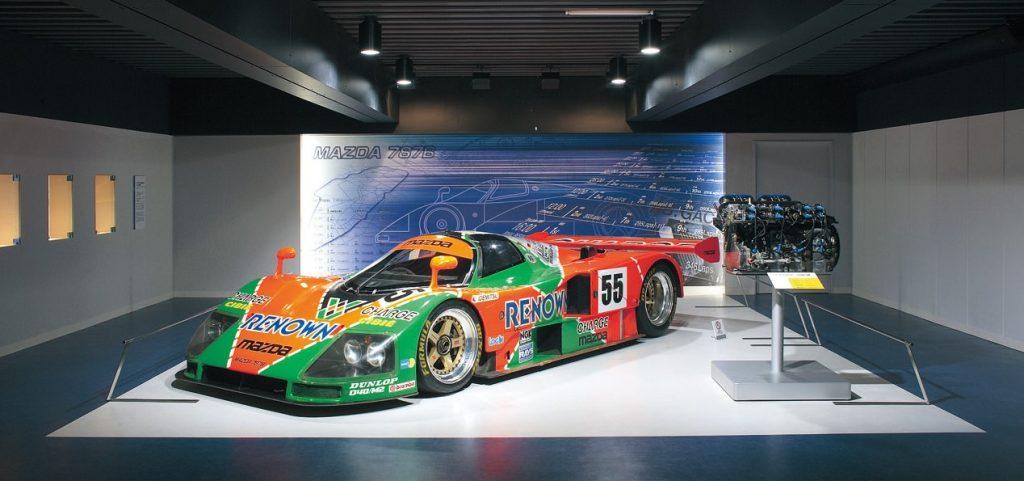 Mazda Le Mans Winner Mazda 787B