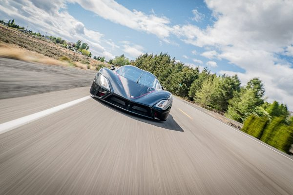 SSC tuatara front view driving