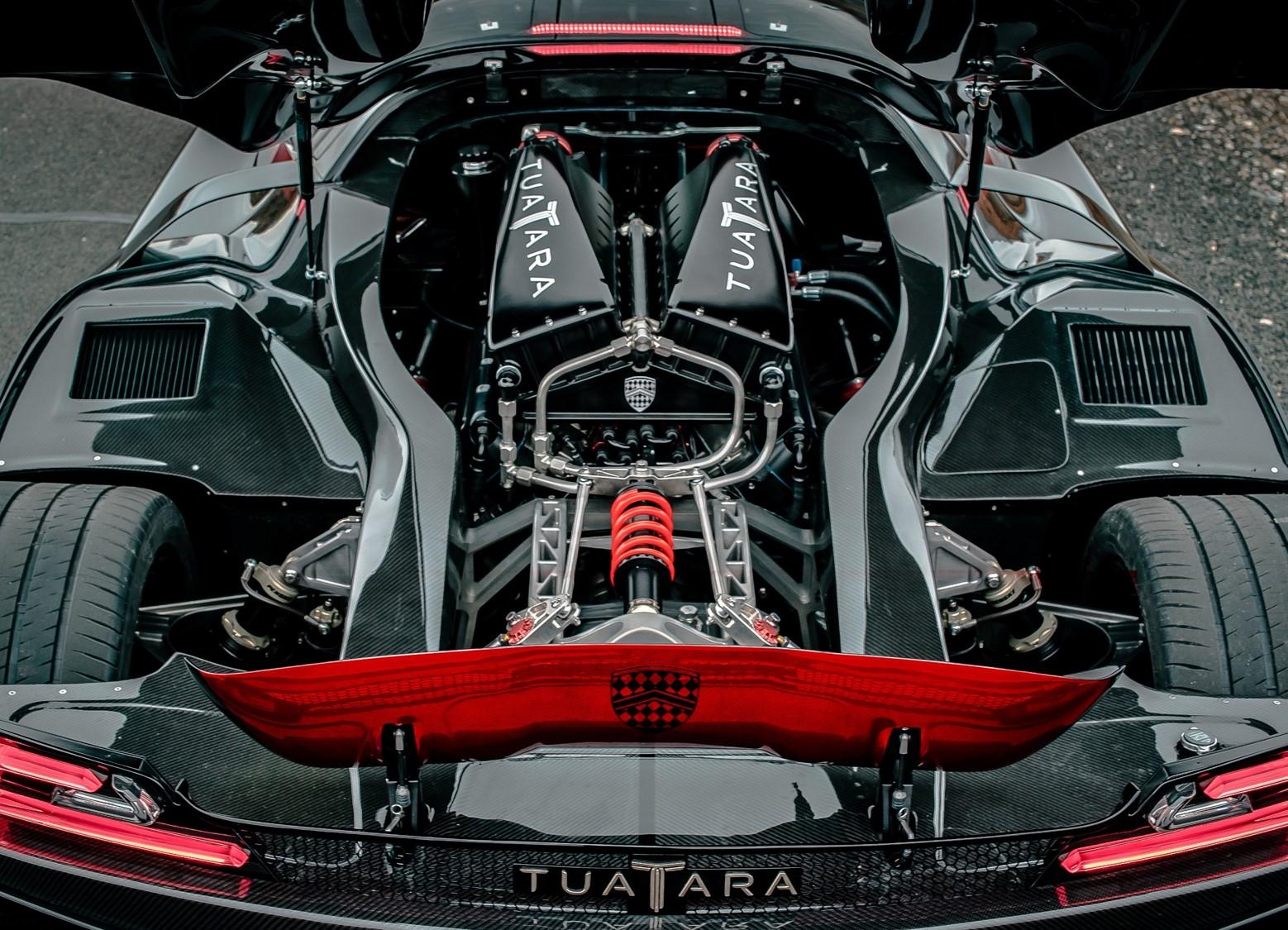 SSC Tuatara Engine Bay